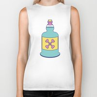 drink Biker Tanks featuring Drink Up by erinpantz