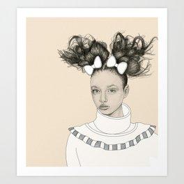 Self-Proclaimed Royalty I Art Print