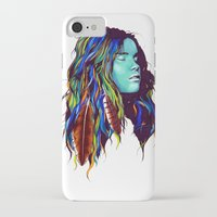 dreamer iPhone & iPod Cases featuring Dreamer by Peter Fulop