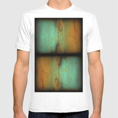 Mirror mirror on the wall MEDIUM White Mens Fitted Tee