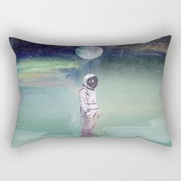 Moon Balloon Rectangular Pillow