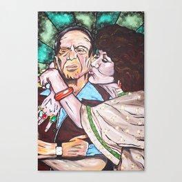 Mr. & Mrs. Roper Canvas Print