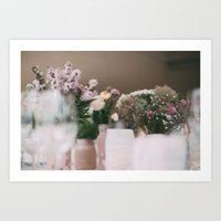wedding Art Prints featuring wedding by iulia pironea