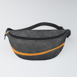 Yellow Line III Fanny Pack