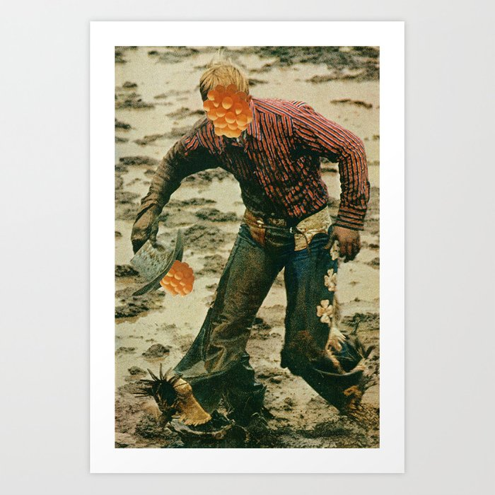 rugged individualism #1 Art Print