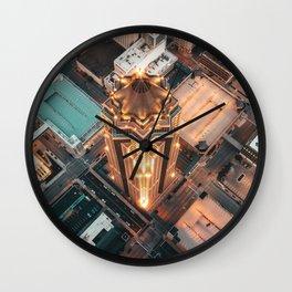 Des Moines Wall Clock