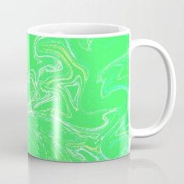 Neon green abstract Coffee Mug