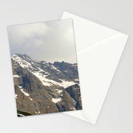 Blue Sky - Snowy Mountain Stationery Cards