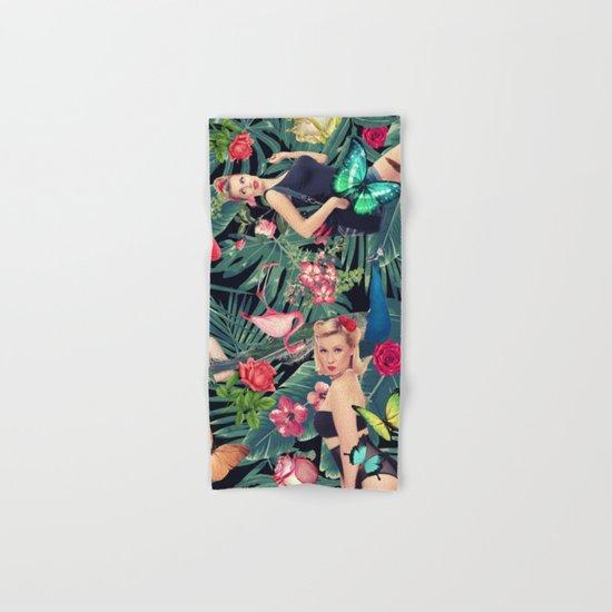 tropical fun sexy  Hand & Bath Towel