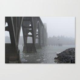 Yaquina Fog Canvas Print