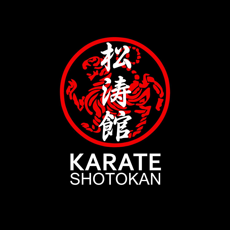 Shotokan Karate Symbol And Kanji White Text Comforters