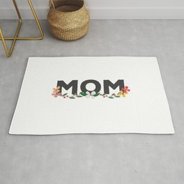 Mom on Mothers Day Rug