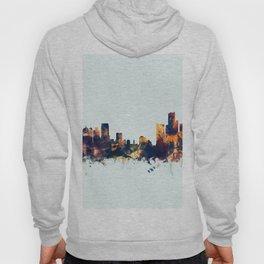 Detroit Michigan Skyline Hoody