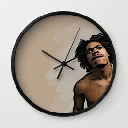Mean Mug Wall Clock