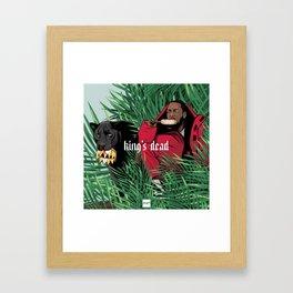 King's dead Framed Art Print