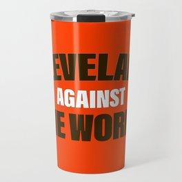 Cleveland Against The World Football Travel Mug