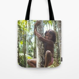 Climbing Trees Tote Bag
