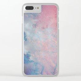 DESERT ICE Clear iPhone Case