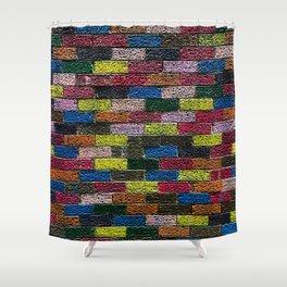 Follow The Bright Brick Road Shower Curtain