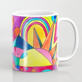 Burst of colours in Spring Coffee Mug
