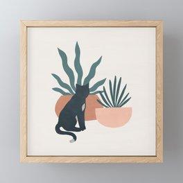 flora and fauna Framed Mini Art Print