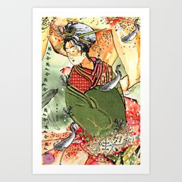 Ukiyo Art Print