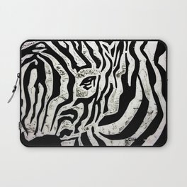 Inconspicuous Zebra Laptop Sleeve