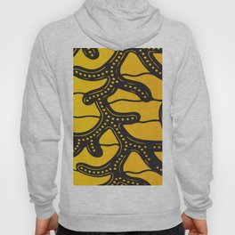 African Tribal Pattern No. 83 Hoody