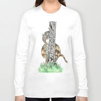 wild things Long Sleeve T-shirts featuring The Wild Things by Cherry Virginia