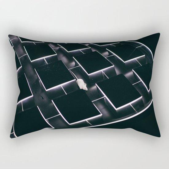 Mice in a maze Rectangular Pillow