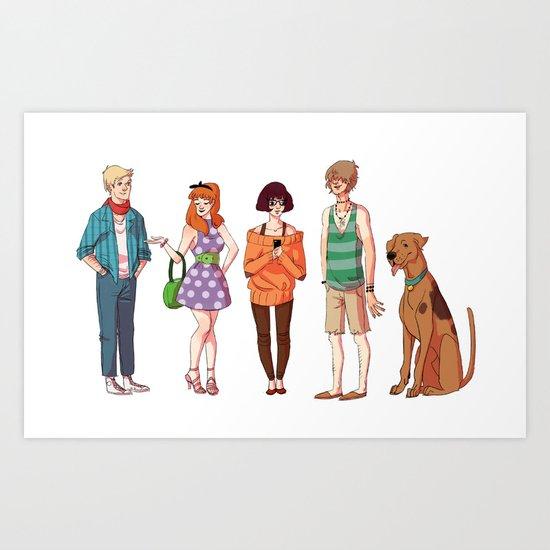 hipsterscoobydoo Art Print