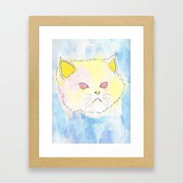 Catatonic Schizophrenia  Framed Art Print