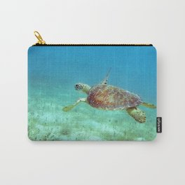 Watercolor Turtle, Green Turtle 05, St John, USVI Carry-All Pouch