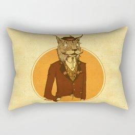{Bosque Animal} Lince Rectangular Pillow