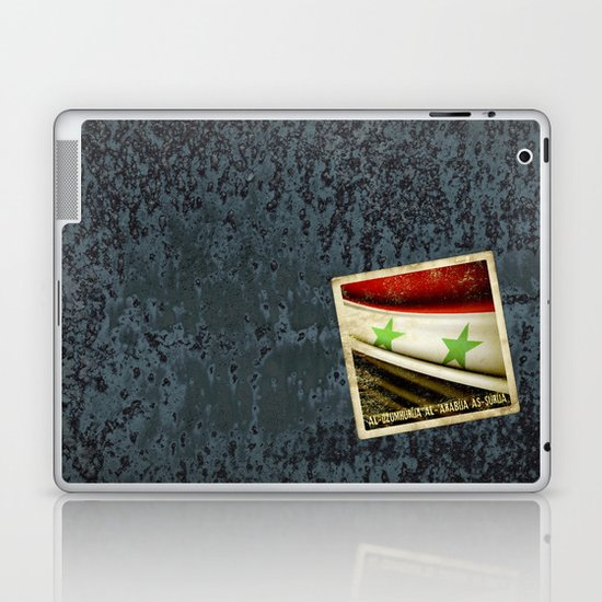 STICKER OF SYRIA flag Laptop & iPad Skin