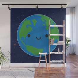 Planet Earth Wall Mural