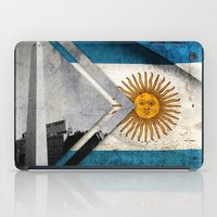 argentina iPad Cases featuring Flags - Argentina by Ale Ibanez