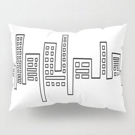 City Shape Pillow Sham