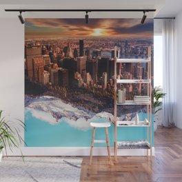 Upside Down Wall Mural