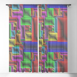 ColorBlox - Hammered Sheer Curtain