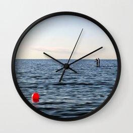 Baltic Sea - Warnemuende Beach  Wall Clock