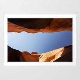 Rattlesnake Canyon, AZ Art Print