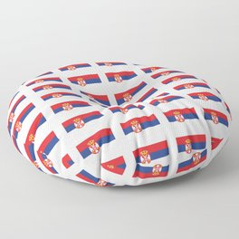 flag of Serbia 2-balkan,serbian,europe,yugoslavia, Pannonian,Belgrade,Novi Sad,nis,kragujevac Floor Pillow
