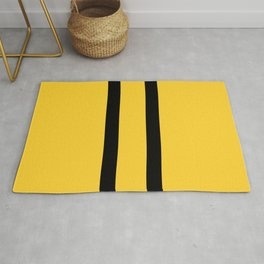 Bruce Bee Bumble Lee Stripes Rug