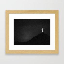 Across Framed Art Print