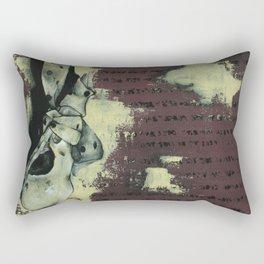 Closed Mouths V2 Rectangular Pillow