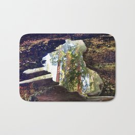 View of Giant Sequoias from Inside a Fallen Sequoia Bath Mat