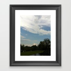 After the Rain on the Farm Framed Art Print