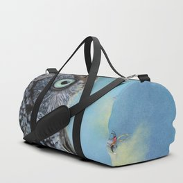 Owl and Lightning Bugs Duffle Bag