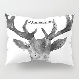 Deer with birds Pillow Sham